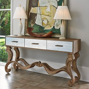 Ambella Home Collection Textured Console Table