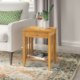 Arreola Bamboo Side Table By Brambly Cottage