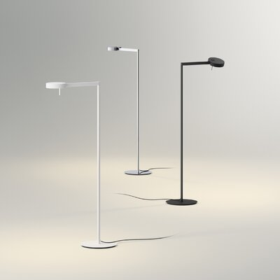 Swing 39 led task floor lamp