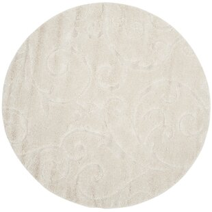 Alison Creme Area Rug by Three Posts