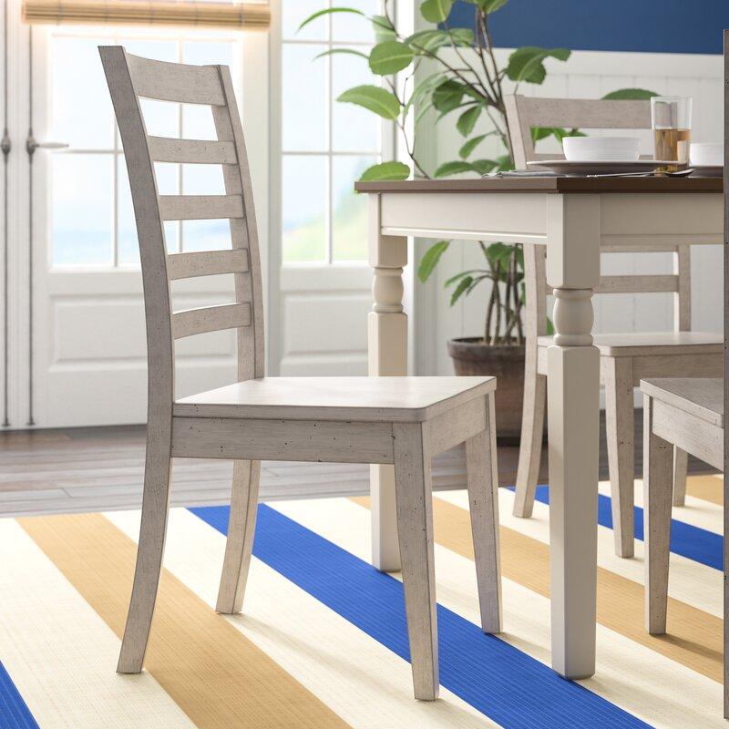Rutledge Solid Wood Ladder Back Side Chair
