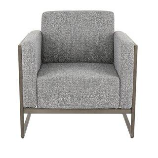 Ambrose Serta Upholstery Industrial Armchair by Breakwater Bay SKU:DE894027 Details