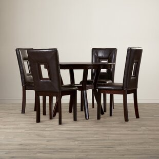 Woodsetter 5 Piece Dining Set Wade Logan