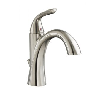 American Standard Fluent Single Hole Bathroom Faucet with Drain Assembly