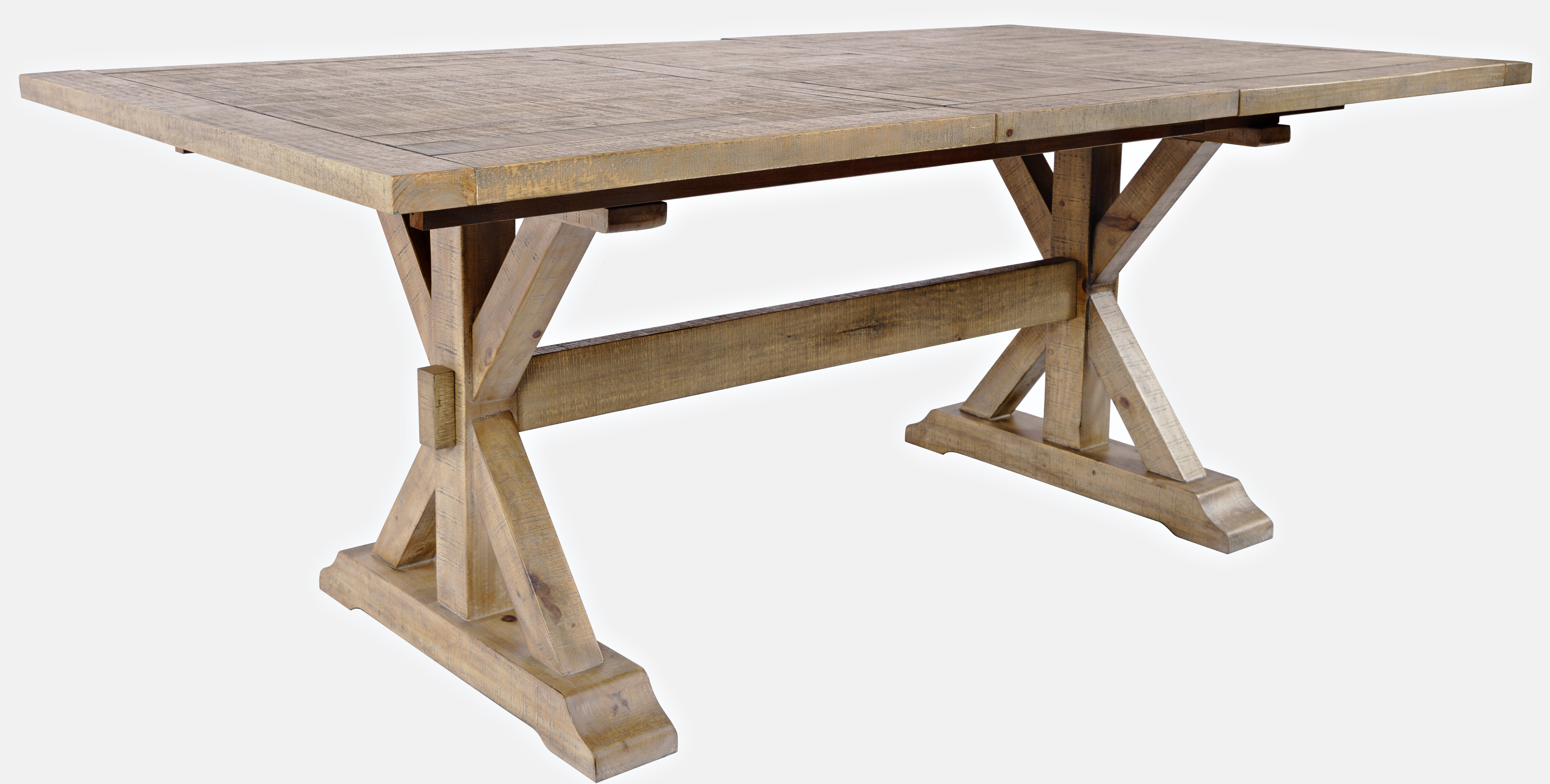 Three Posts Bryon Extendable Pine Solid Wood Dining Table Reviews Wayfair