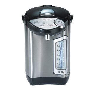 4.2-qt. Stainless Steel Water Boiler and Warmer with Auto Feed