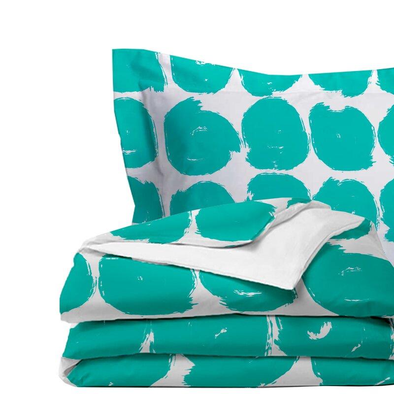 Latitude Run Calica Sketchy Comforter Set (Set of 3)