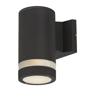 Inexpensive Leilla Contemporary 1-Light Outdoor Sconce By Orren Ellis