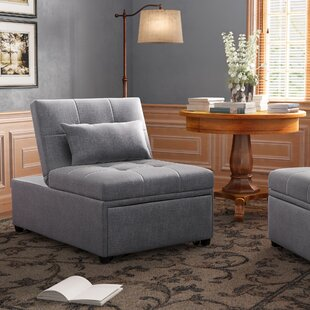 Kriemann Convertible Chair by Red Barrel ..