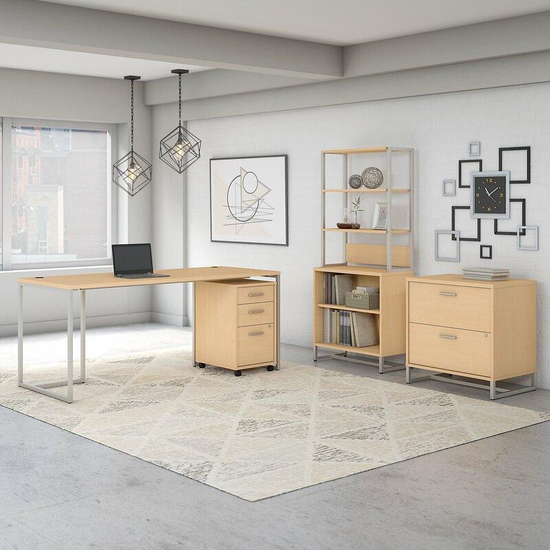 Deruyter 3 Piece Office Set With Hutch Reviews Allmodern