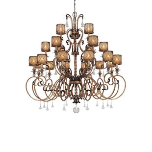 Astoria Grand Keithley 21-Light Drum Chandelier