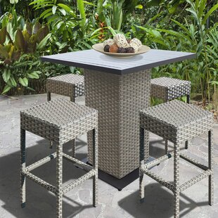 Rochford 5 Piece Pub Table Set