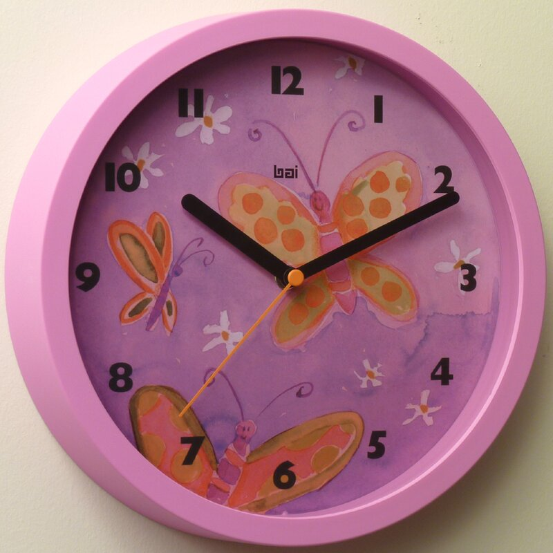 Bai Design 10 Childrens Wall Clock Wayfair