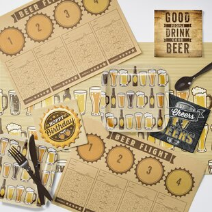 Cheers and Beers Party Supplies Kit