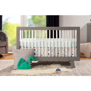 hudson 3in1 convertible crib - Gray Baby Cribs