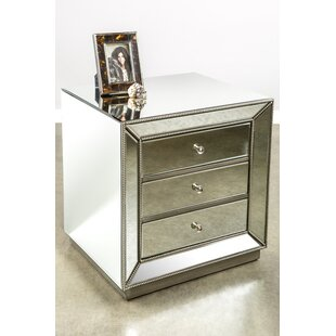 Statements by J Mie 3 Drawer Nightstand