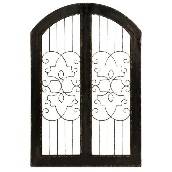 Garden Gate Wall Decor imax amelia gate wall décor & reviews | wayfair