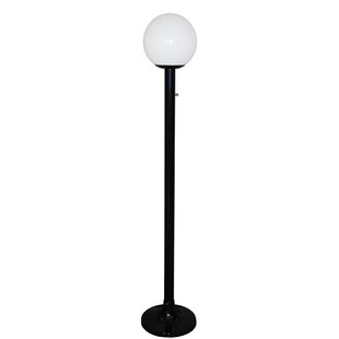 Single Globe Luminaire 79'' Post Light
