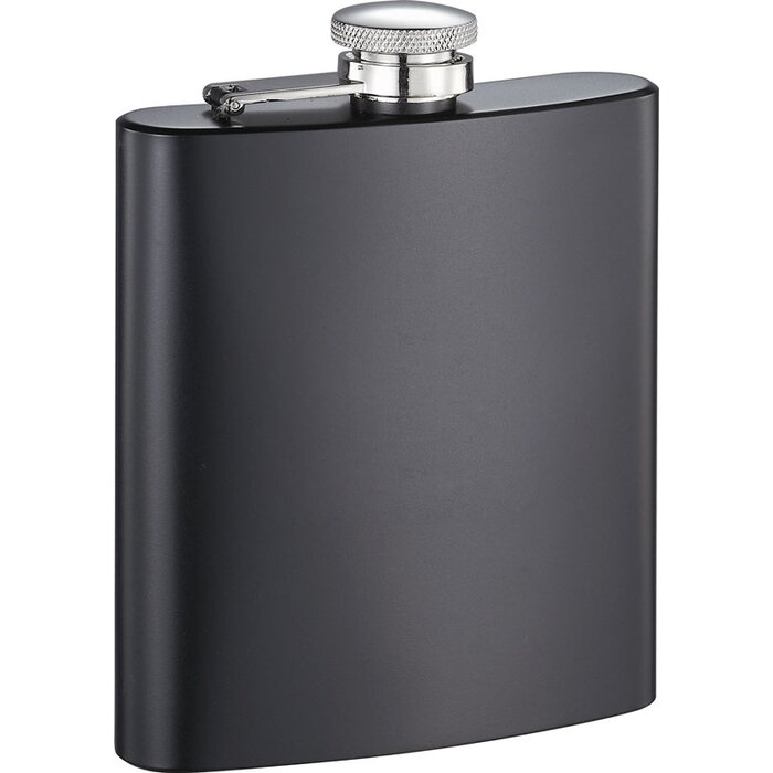 8 oz Visol Britney X Hot Pink Liquor Flask Silver