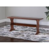 Patty Solid Wood Bench by August Grove®