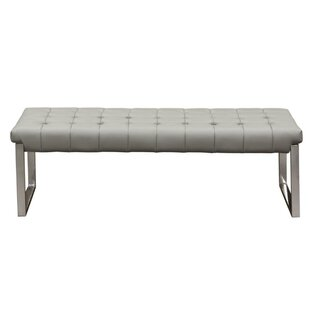 Tawanna Faux Leather Bench by Orren Ellis