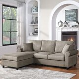 Trym 85 Left Hand Facing Sofa & Chaise by Red Barrel Studio®