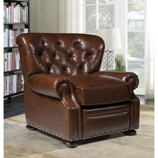 Ty Leather Manual Recliner