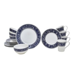 Francesco 16 Piece Dinnerware Set, Service for 4