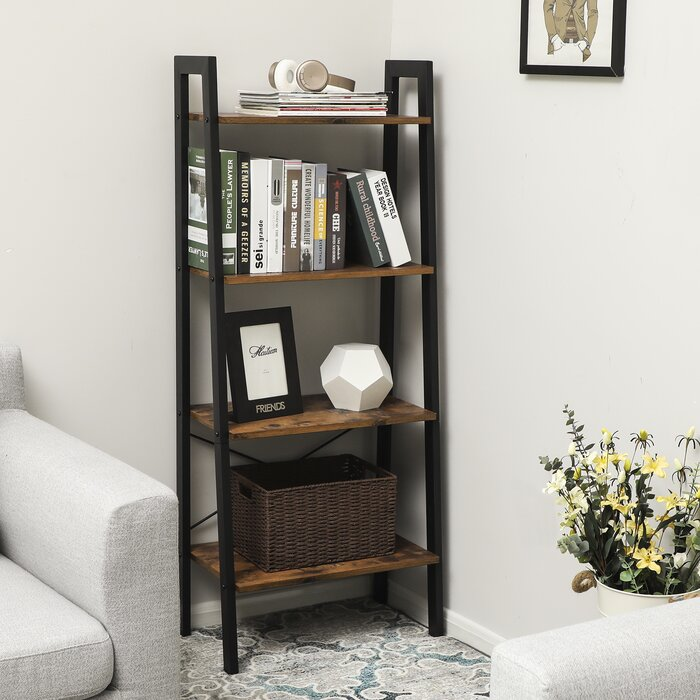 check out 0ed49 ded54 Amaryllis 4-Tier Ladder Bookcase