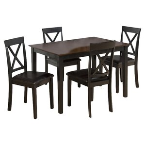 Burly 5 Piece Dining Table Set by Jofran