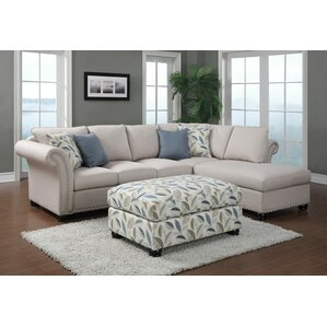 Paige Sectional by Emerald Home Furnishings