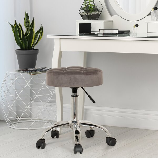 Height Adjustable Vanity Stool Wayfair