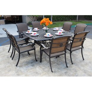 Harland 9 Piece Dining Set