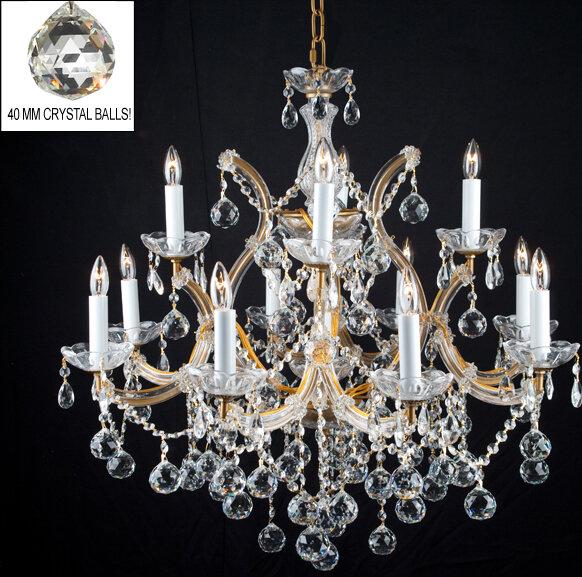Astoria Grand Alvarado 13 Light Candle Style Tiered Chandelier Wayfair