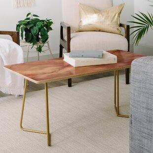 Find Chelsea Victoria Rose Marble Coffee Table By East Urban Home