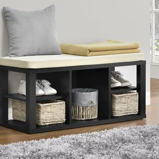 Charlton Home Annsville Wood Storage Bench