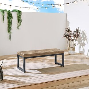 Clay Stone Garden Bench by Ove Decors