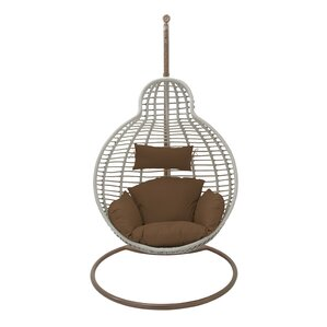 Olefin Swing Chair With Stand