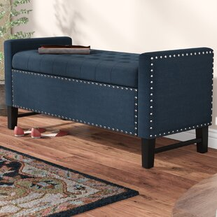 Comparison Lamothe Upholstered Storage Bench By Alcott Hill
