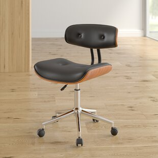 Bloomfield Adjustable Low-Back Task Chair by George Oliver Cool