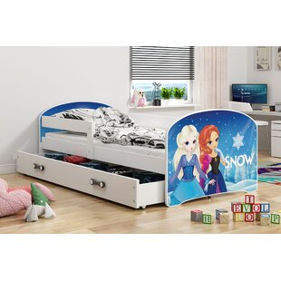 Luki Snow European Toddler Cabin Bed With Drawer By BMS Group