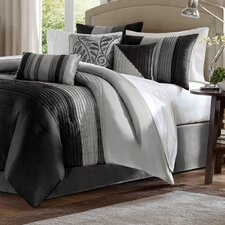 morell 7 piece reversible comforter set - Cal King Comforter Sets