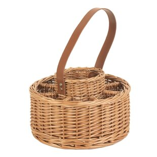 Whisky Picnic Basket By Beachcrest Home