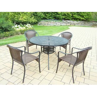 Oakland Living Sunray Tuscany 5 Piece Dining Set