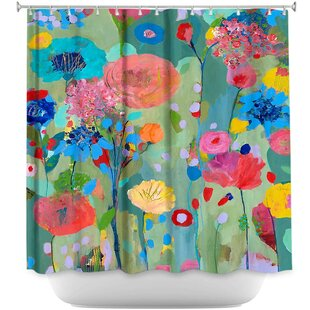 Reviews Dreamscape Shower Curtain By DiaNoche Designs