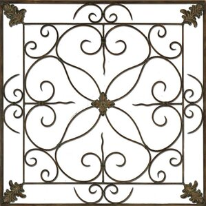 Metal Scroll Wall Decor metal wall art - wall décor | wayfair