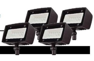 Lumight Asimo 4 Light LED Flood/Spot Light (Set of 4) (Set of 4)