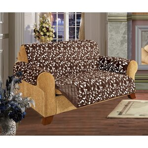 Leaf Furniture Protector Box Cushion Loveseat Slipcover
