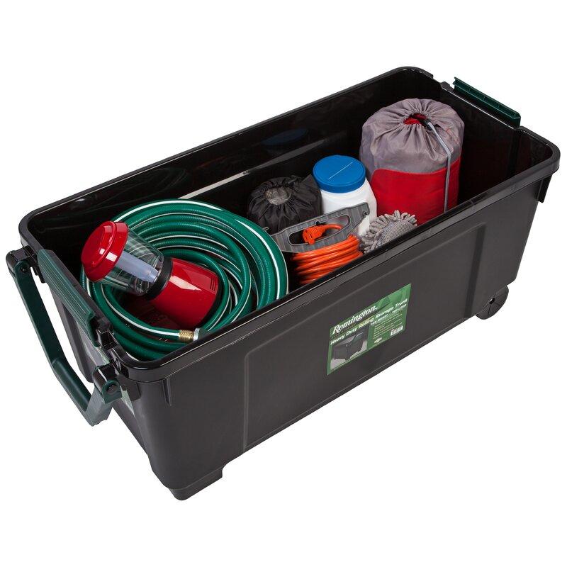 42 Gallon Heavy Duty Storage Trunk With Wheels