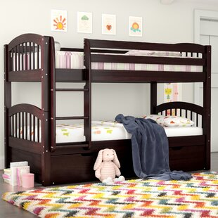 Best Price Isabelle Twin over Twin Bunk Bed with Trundle by Viv + Rae Reviews (2019) & Buyer's Guide